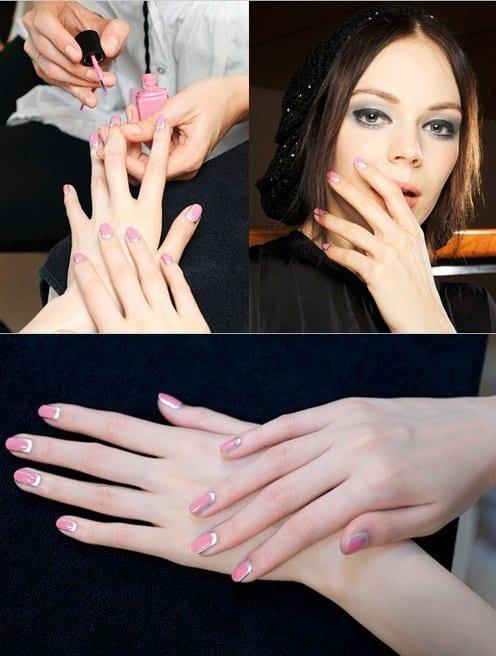 Chanel Border Nails