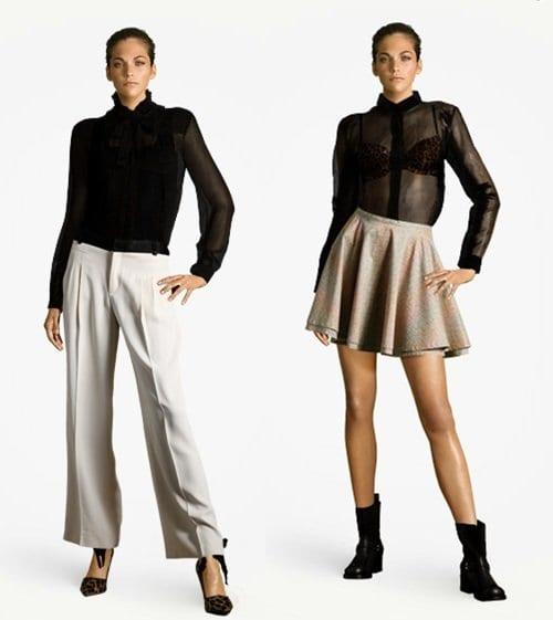 Como Usar Transparencia Trend Help: Camisa Transparente!
