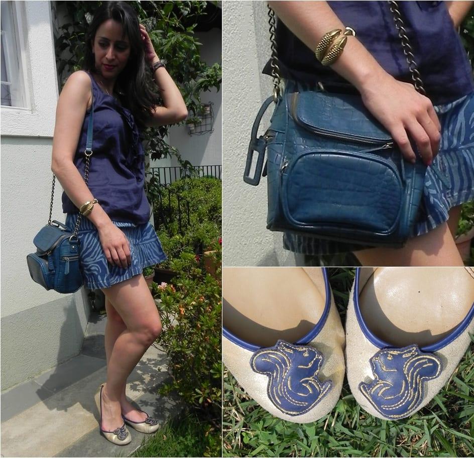 Luli Monteleone Look Azul Look da Luli: Tudo Azul!