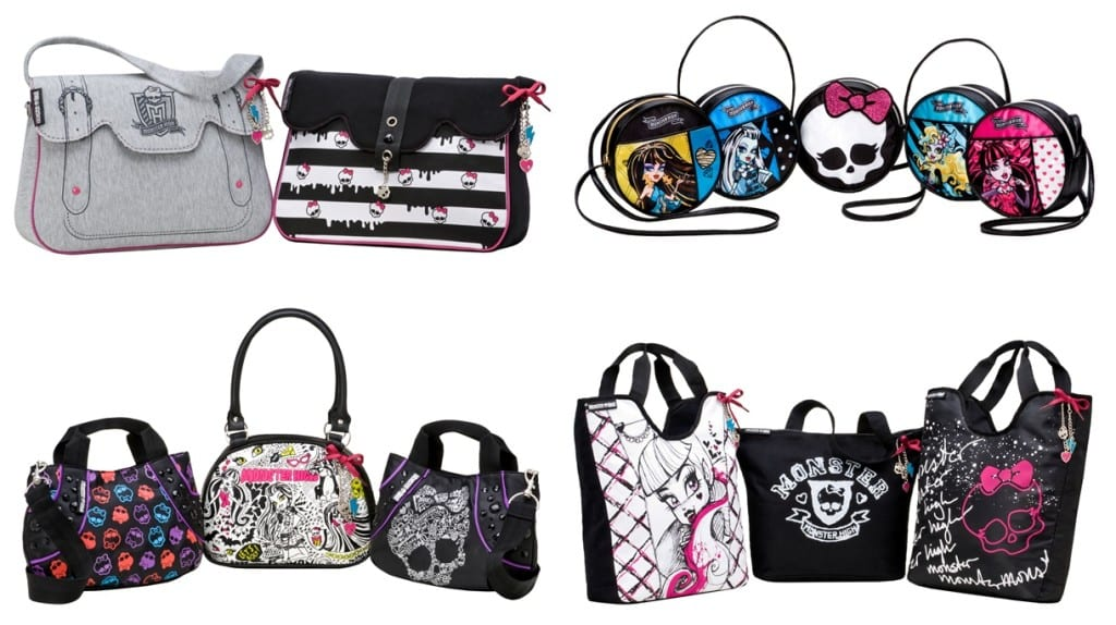 Bolsas Monster High 1024x574 Novidades Monster High!