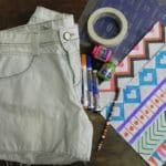 DIY: Shorts Étnico!