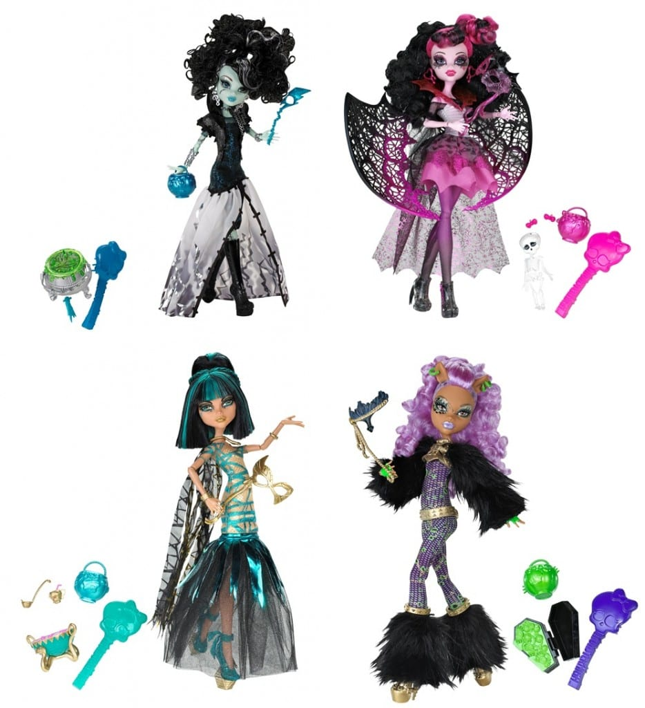 Monster High Halloween 934x1024 Novidades Monster High!