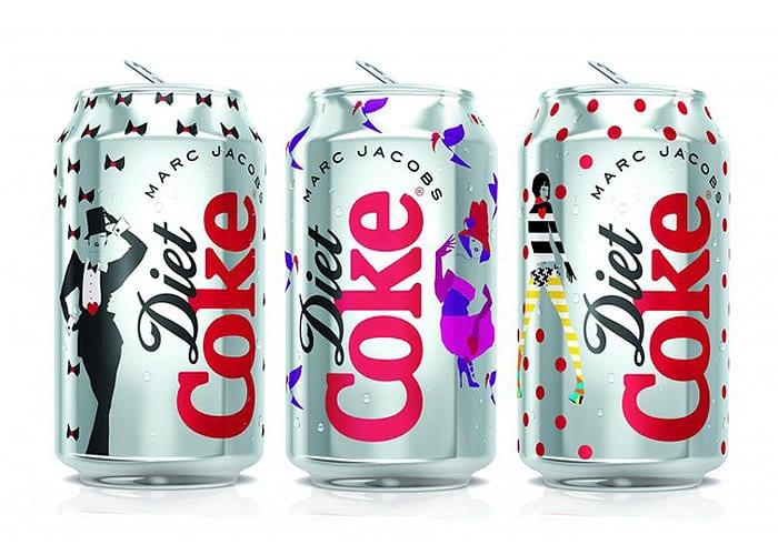 marc jacobs diet coke Marc Jacobs para Diet Coke!