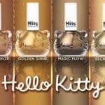Hello Kitty dourada nas suas unhas!