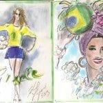 O Brasil segundo Karl Lagerfeld!