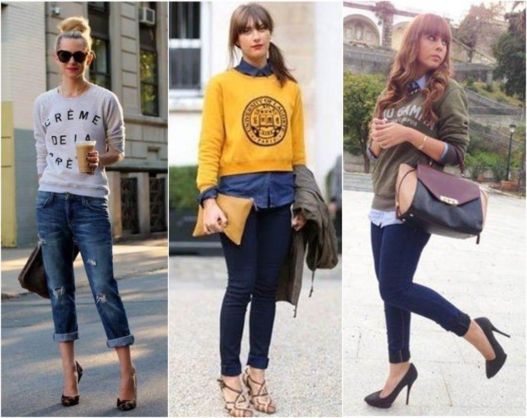 Como usar moletom com jeans 1024x813 Como Usar: Moletom!