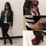 Look da Luli: Jeans e Couro!