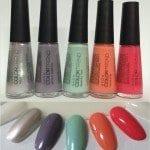 Swatches: Avon Color Trend Pop Art!