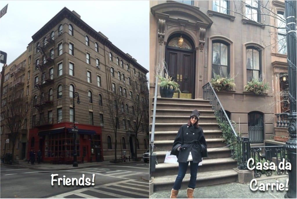 Friends-SATC-NY