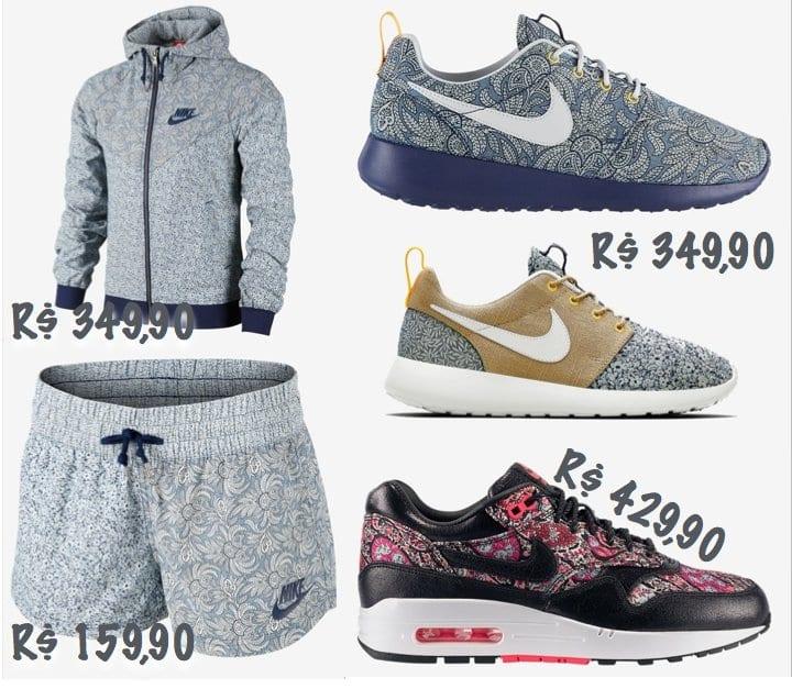 liberty nike As parcerias da Nike!