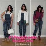 #1Peça3Looks: Macacão Jeans!