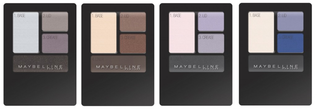 quarteto sombras expert wear maybelline 1024x357 A.A.   Sombras Expert Wear da Maybelline!