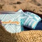 SandAway: maneira prática de tirar a areia do corpo!
