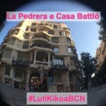 #LuliKikoaBCN: La Pedrera e Casa Battló!