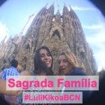 #LuliKikoaBCN: Sagrada Família!
