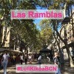 #LuliKikoaBCN: Las Ramblas e Bairro Gótico!