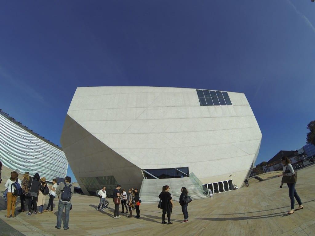 Casa da Música, onde aconteceram as palestras!