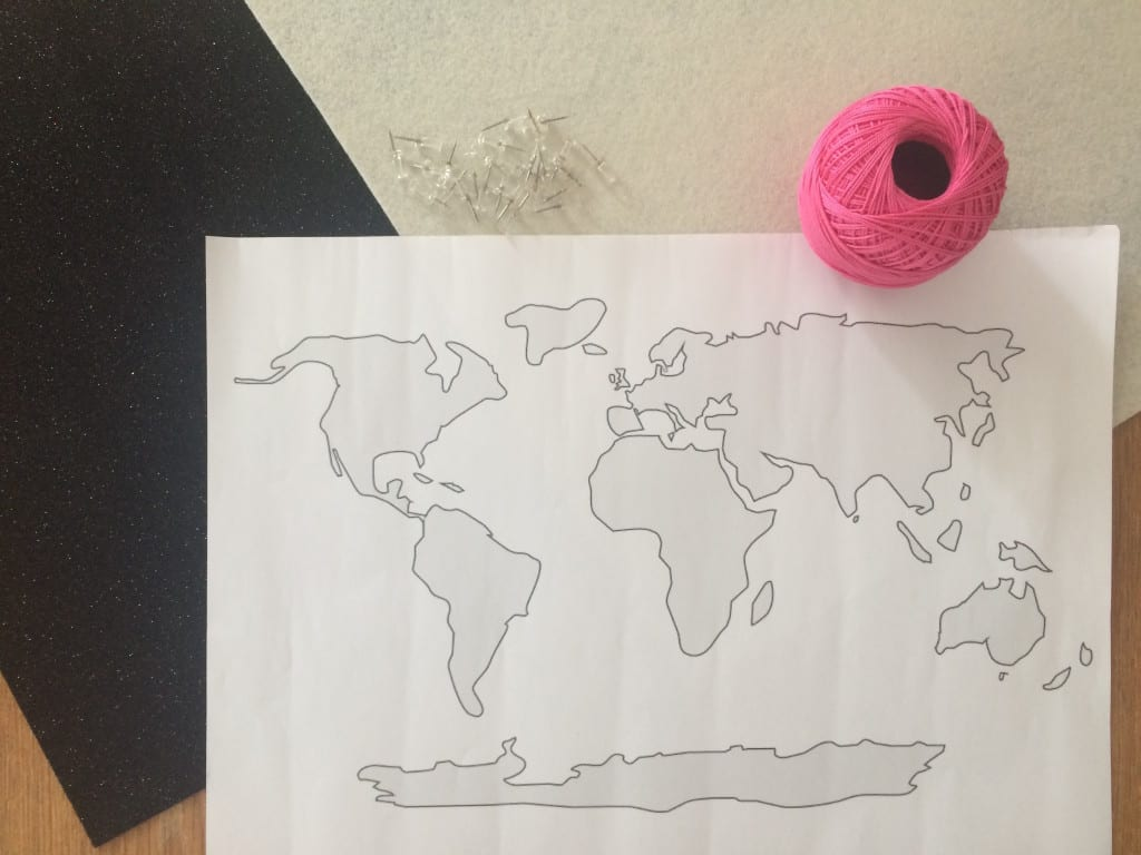 DIY-Travel-Map