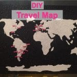 DIY Travel Map!