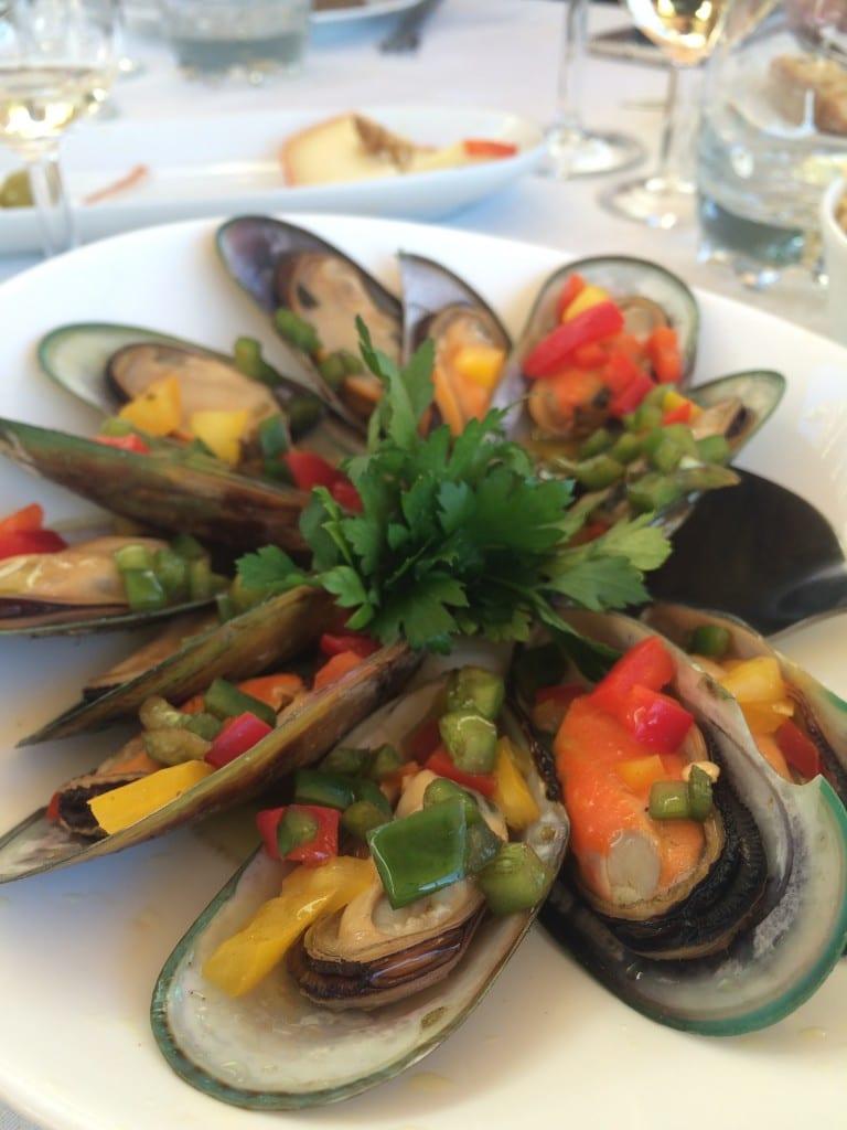 Mexilhão no jantar no Restaurante Fish Fixe!