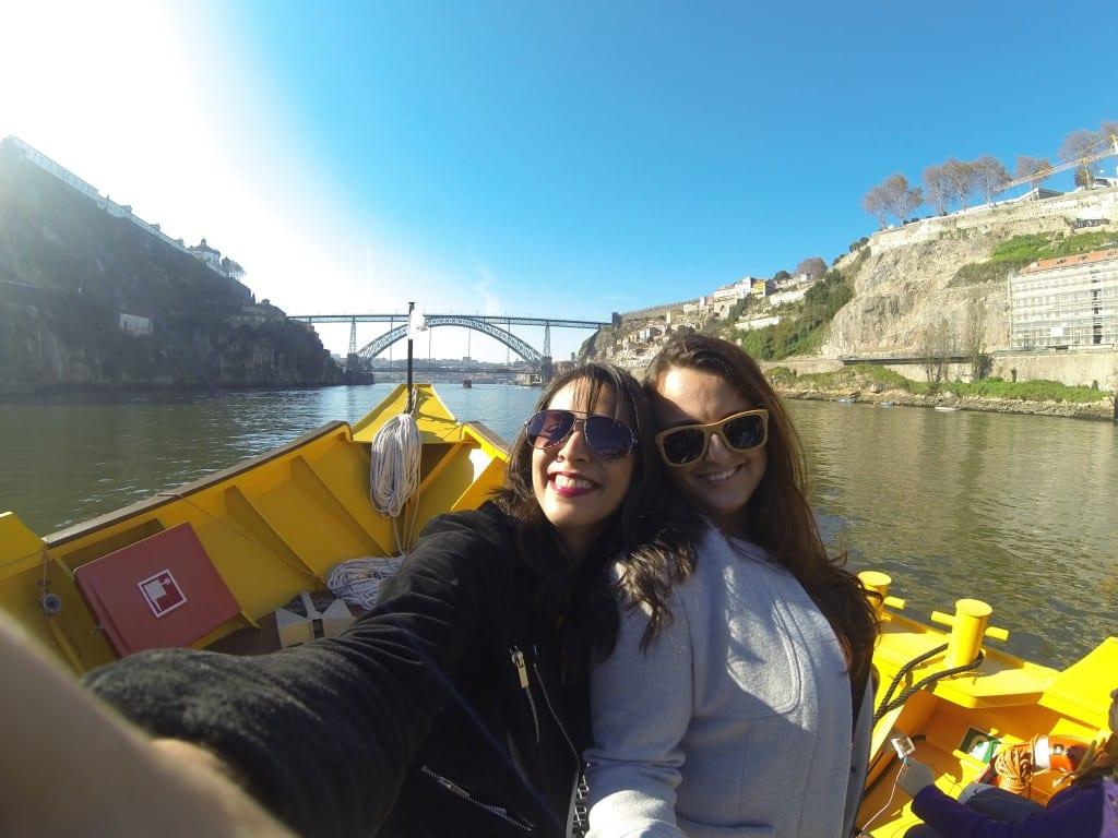 No Rio Douro com Irina!