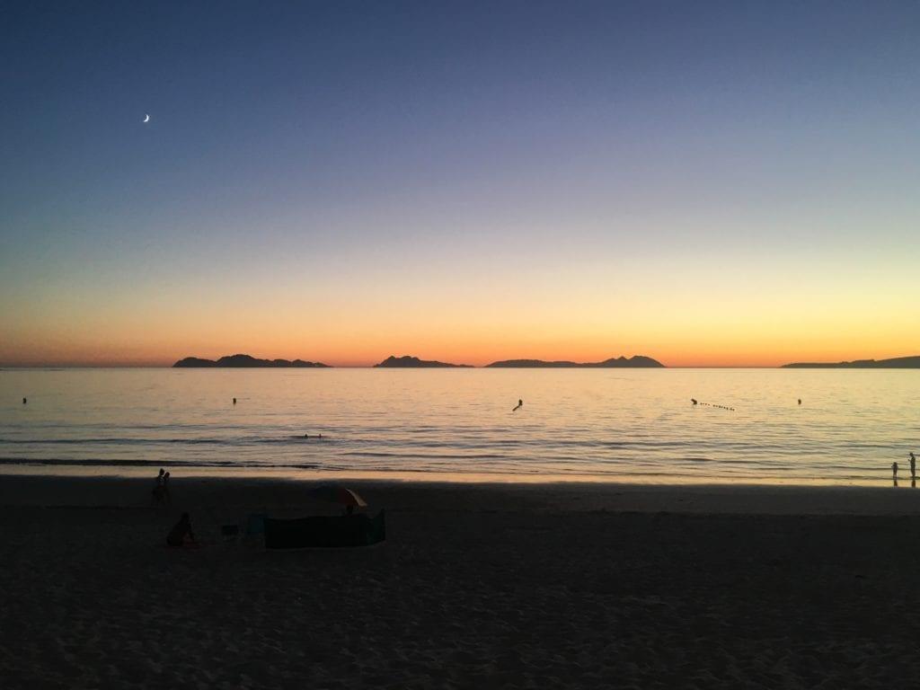 Vigo-Espanha-Por-do-sol