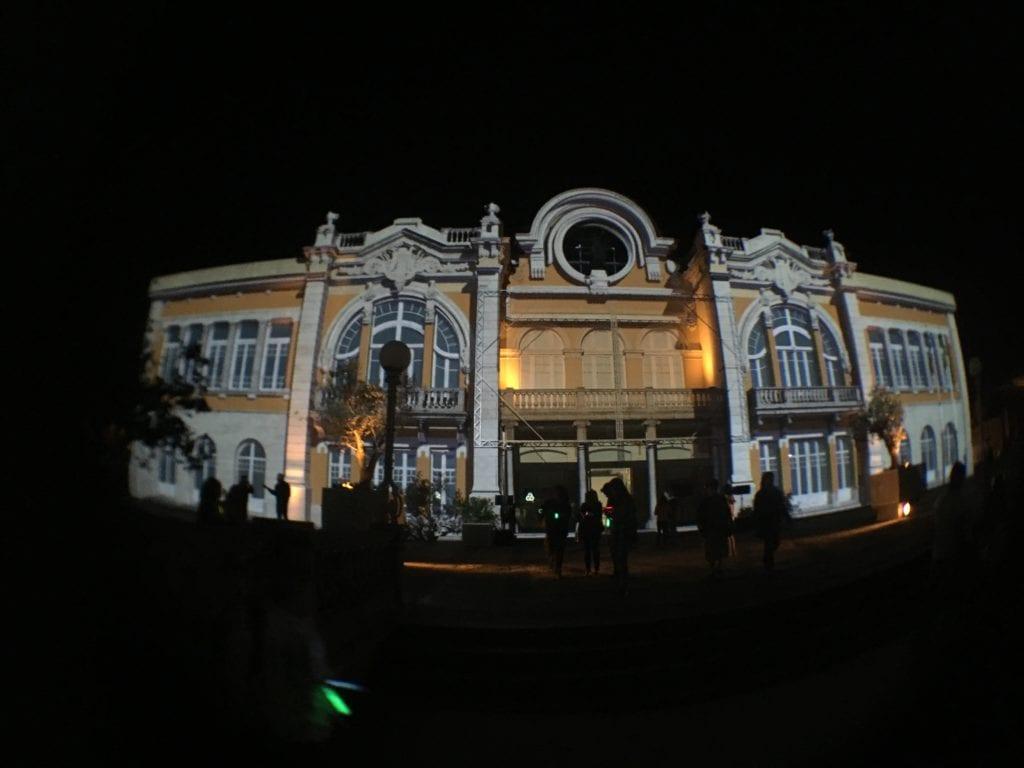 Museu das Artes de Sintra com video mapping no Aura Festival