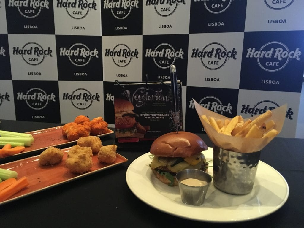 Hard Rock Cafe Hamburger Vegetariano