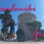 Conhecendo a White Tower e passeando de barco em Thessaloniki!