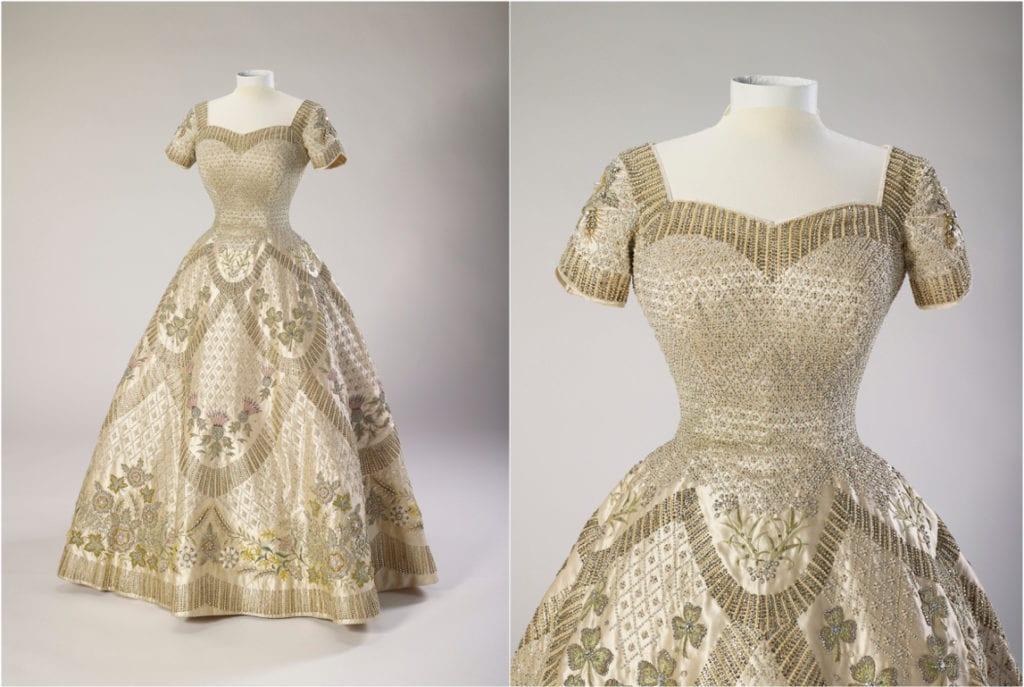 Vestido de noiva Rainha Elizabeth II