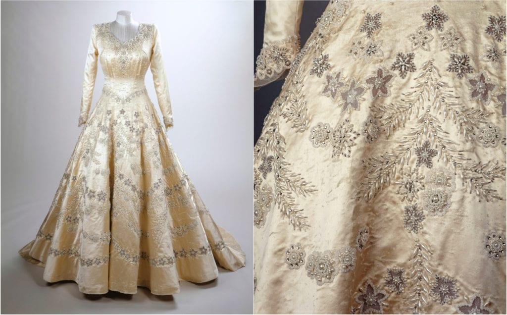 Vestido coroação Rainha Elizabeth II