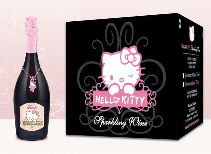 Vinho da Hello Kitty