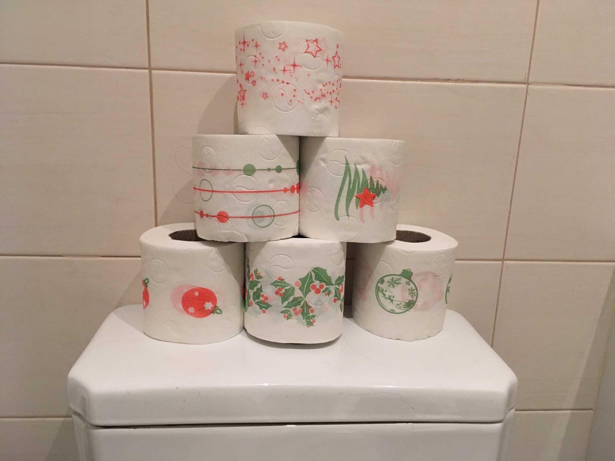 DIY de Natal: decoração no banheiro