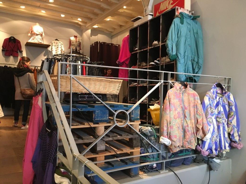 Compras em Bruxelas, Bélgica - vintage shop