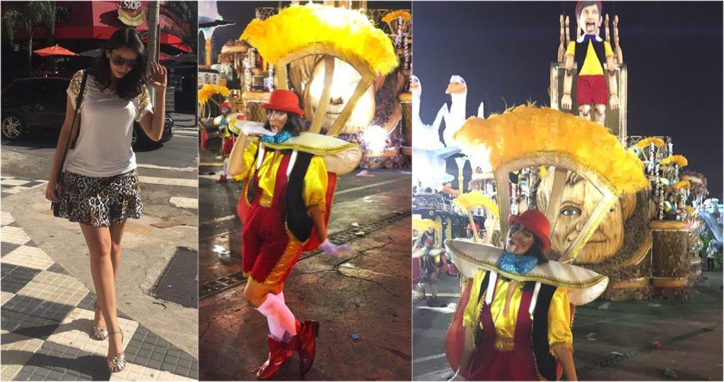 Look carnaval Brasil