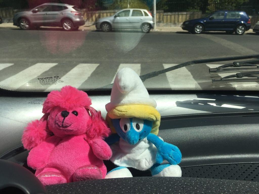Loja Smurfs em Bruxelas