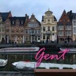Um dia na encantadora Gent, na Bélgica!