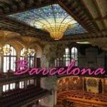 Turismo em Barcelona: Palau de la Musica Catalana!