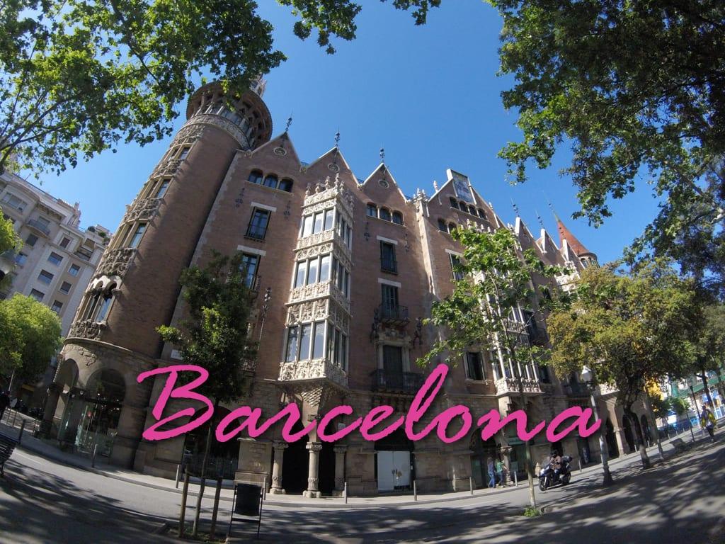 Casa de Les Punxes, Barcelona, Espanha