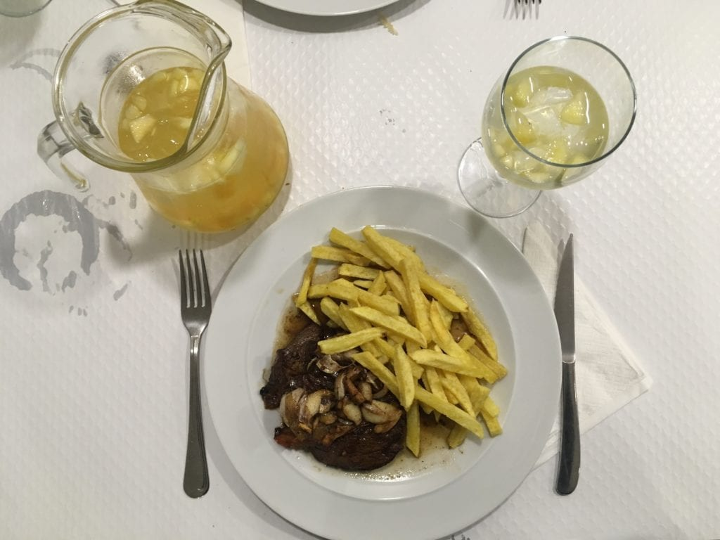 Restaurante em Ponta Delgada