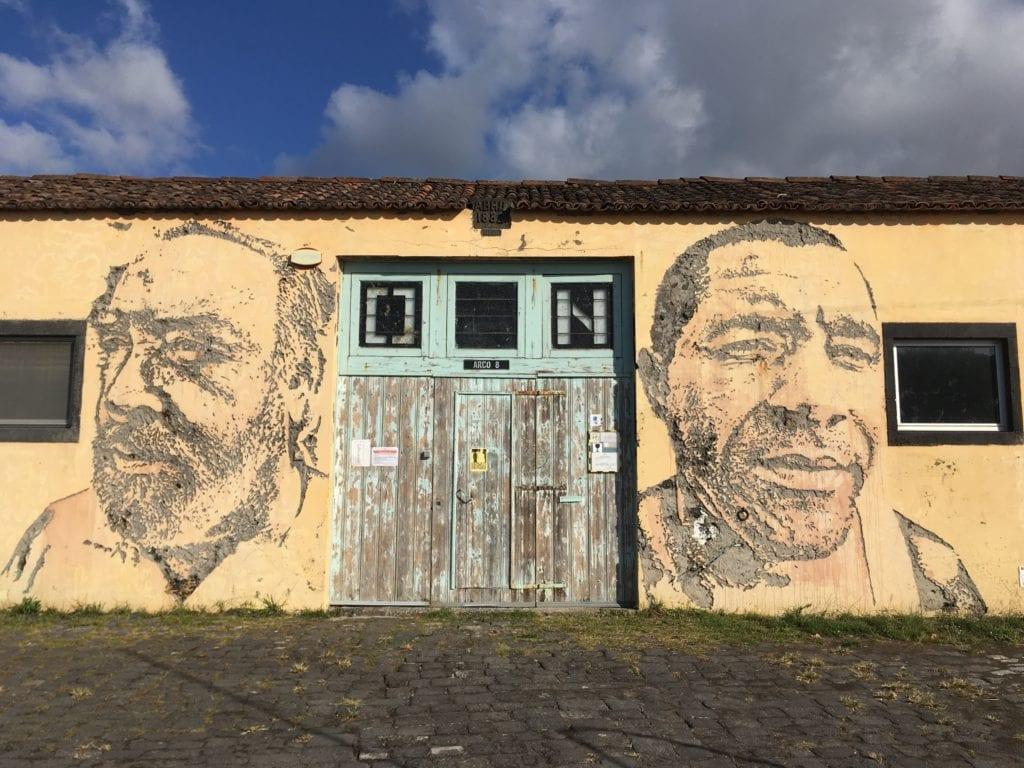 Vhils Street Art, São Miguel