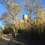 Um castelo no Rio Tejo!