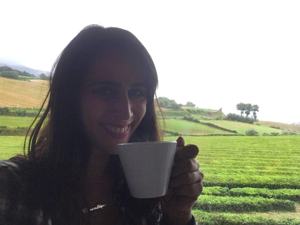 Chá Gorreana, Açores