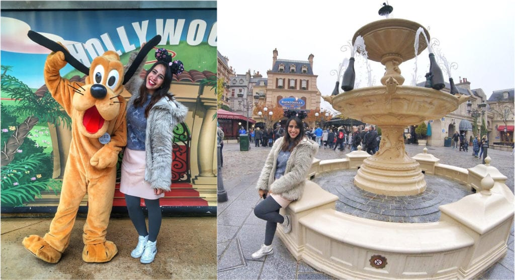 Looks para frio na Europa, Disney Paris