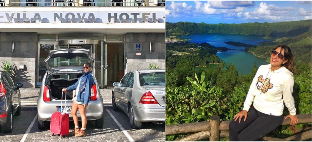 Roupa para Fazer Turismo nos Açores, Portugal