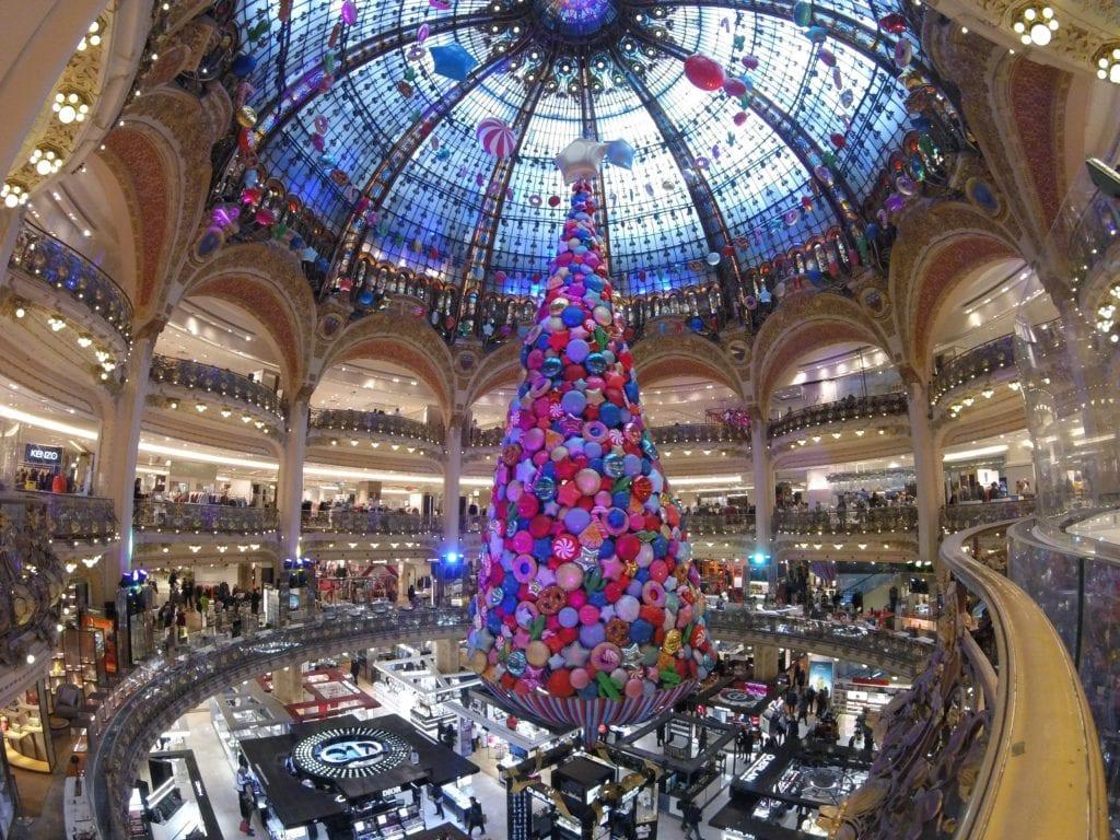 Compras em Paris: Natal nas Galeries Lafayette