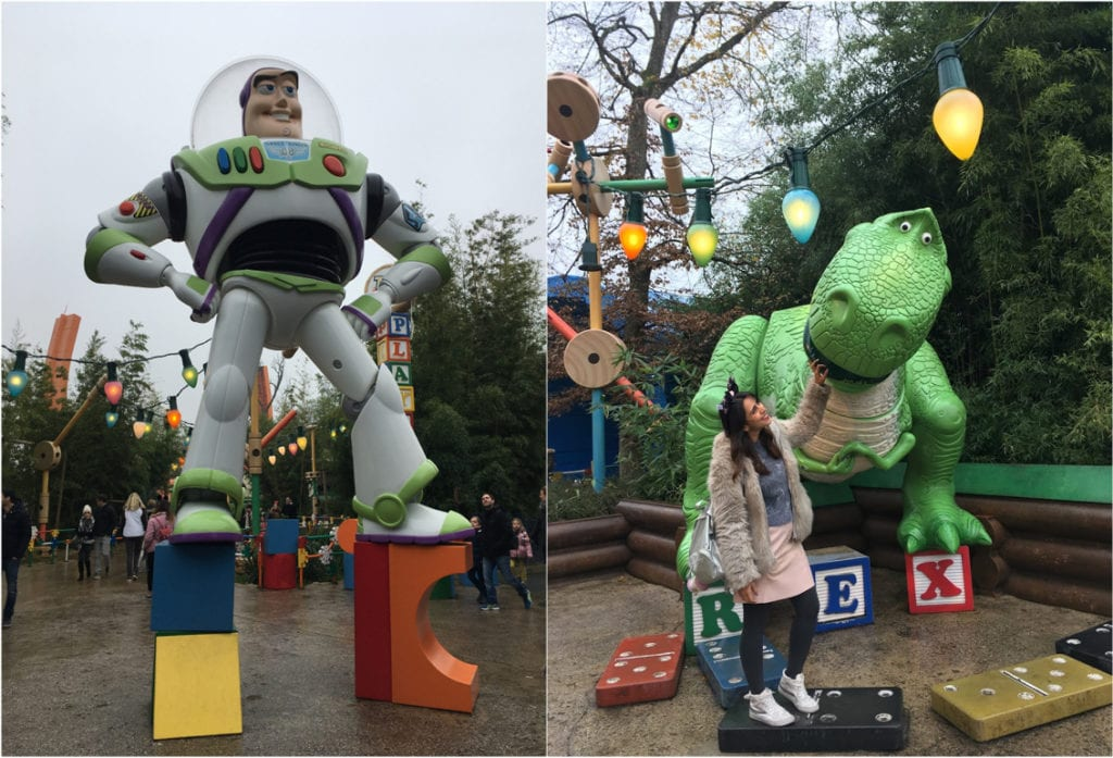 Toy Story na Disney Paris