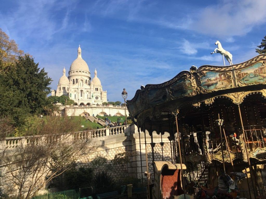 Sacre Couer em Montmartre, Paris