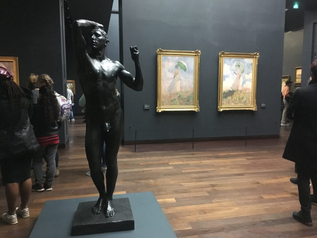 Rodin no Museu d'Orsay