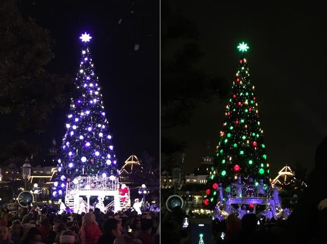 Árvore de Natal da Disneyland Paris